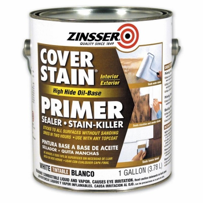 Painting Adventures with Zinsser Cover Stain