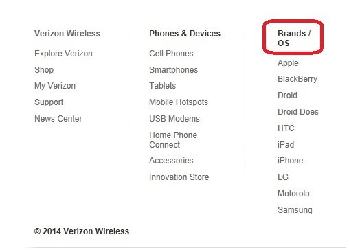 Verizon Disses Windows Phone