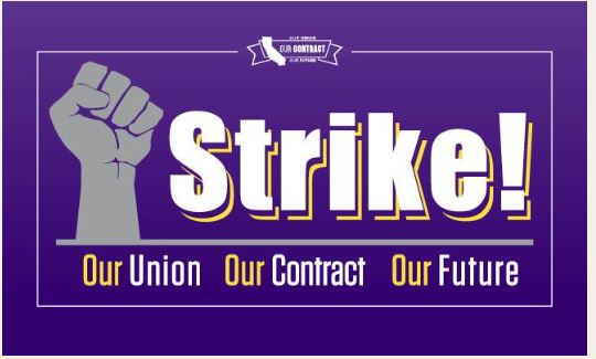 SEIU: Strike One