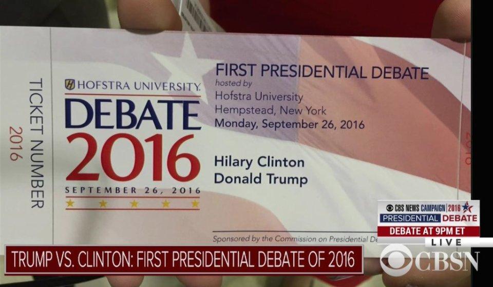 Trump v Clinton: Debate 1