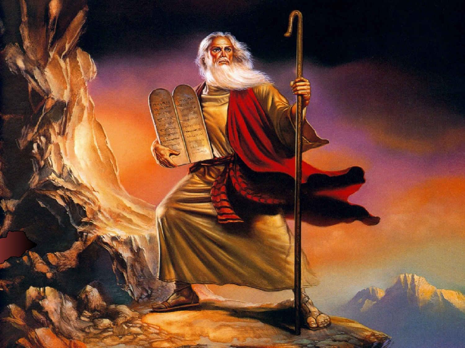 Posting the Ten Commandments and Leftist Frenzy