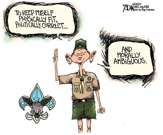Surprise: Boy Scouts of America File Bankruptcy