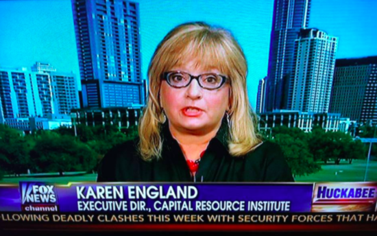 Karen England Responds with CRC