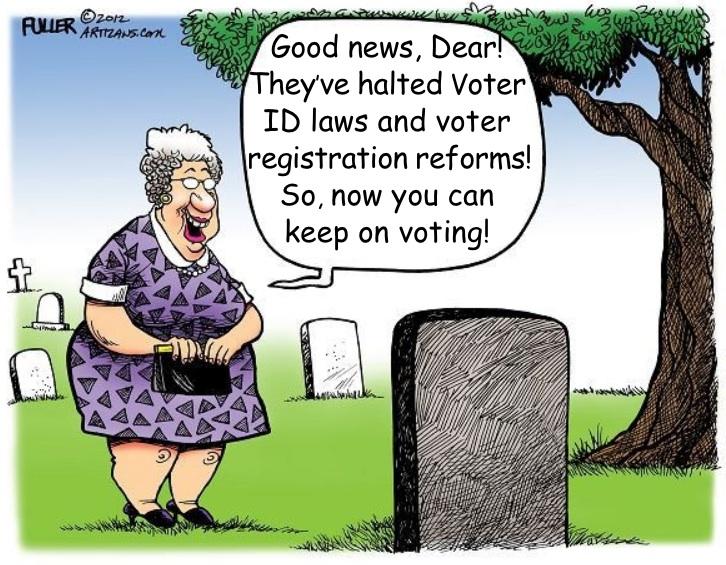 Voter Fraud Made Easy?