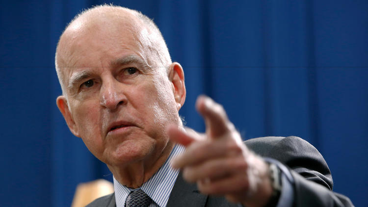 Jerry Brown and Homelessness