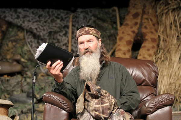 Duck Dynasty Patriarch Stands Tall