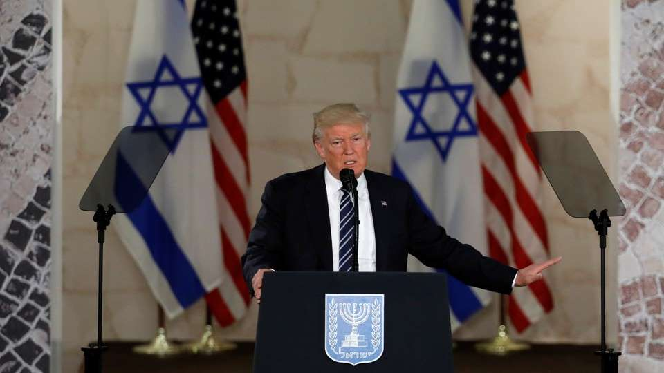 Liberal Logic: Trump Defends Israel Therefore Trump Bad for Israel