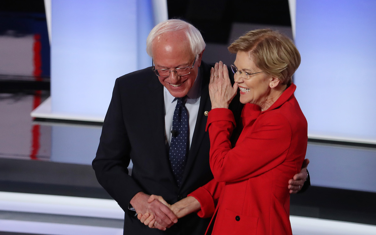 Democrats Feel the Bern and They Are Frightened