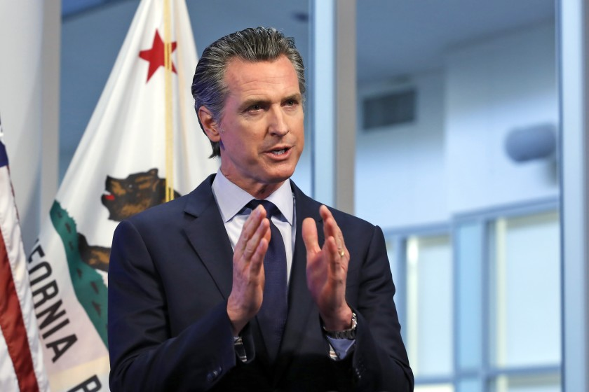 Gavin Newsom Now Bribing Voters