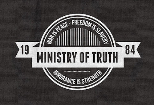 February Thoughts on forming the Ministry of Truth